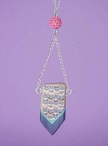 Náhrdelníky - Náhrdelník - Maľovaný šíp - 8806801_