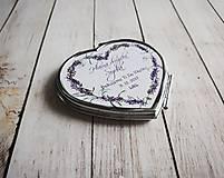 Darčeky pre svadobčanov - Svadobné zrkadielko - 8808441_