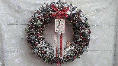 Dekorácie - Vianočný veniec XXL /8hodinový - 8808146_