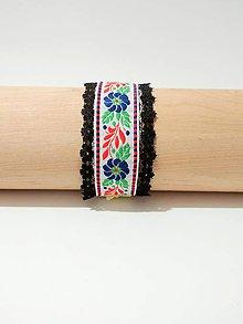 Náramky - Ľudový náramok Hedviga - 8805798_