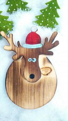 Dekorácie - Vianočný sobík - ozdoba na stromček - 8806555_