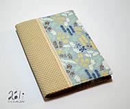 - Obal na knihu - Honey Meadow II. (obal so zapínaním) - 8806052_