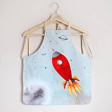 Textil - Zásterka Vesmír - 8810116_