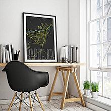 Grafika - BARDEJOV, elegantný, čierny - 8806876_