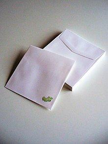Papier - veľká štvorcová obálka s vetvičkou - 8807217_