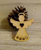Vianočná ozdoba Anjelik
