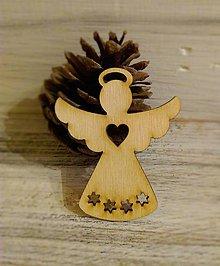 Dekorácie - Vianočná ozdoba Anjelik - 8808476_