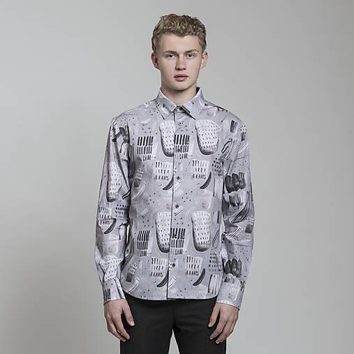 Oblečenie - košeľa FERN - 8810987_