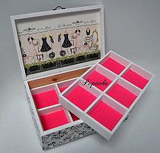 Krabičky - Luxusná šperkovnica - 8806243_