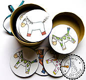 Hračky - pexeso koniky - 8810356_