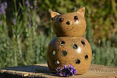 Svietidlá a sviečky - Mačka domáca (Felis catus) - aromalampa - 8806066_