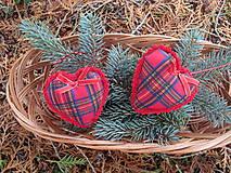 Srdiečko s farbami Vianoc-2