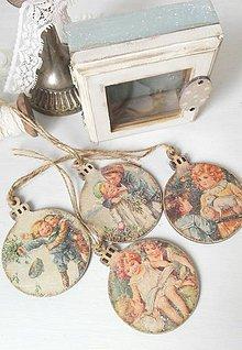 Dekorácie - Vintage vianoce - 8813950_