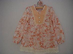 Detské oblečenie - blúzočka ku legínam - 8813628_