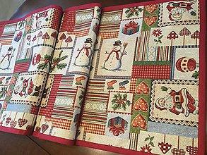 Úžitkový textil - Gobelinova vianočná štóla - 8812473_