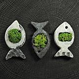 Dekorácie - miniatúrna RAKU záhrada - 8815288_