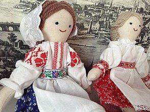 Hračky - Folk bábika - 8814051_