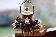 - Vianočný svietnik - 8813721_