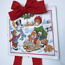 Dekorácie - Závesná vianočná dekorácia - 8815506_