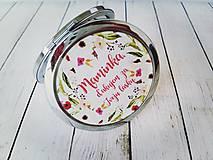 Darčeky pre svadobčanov - Svadobné zrkadielko - 8815767_