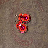 Náušnice - Confetti n.1 - sutaškové náušnice - 8815389_