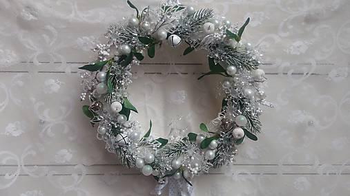 Vianočný veniec ľadový   kiflike - SAShE.sk - Handmade Dekorácie 1a60067b4d7