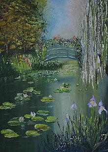 Obrazy - Monetove lekná - 8813857_