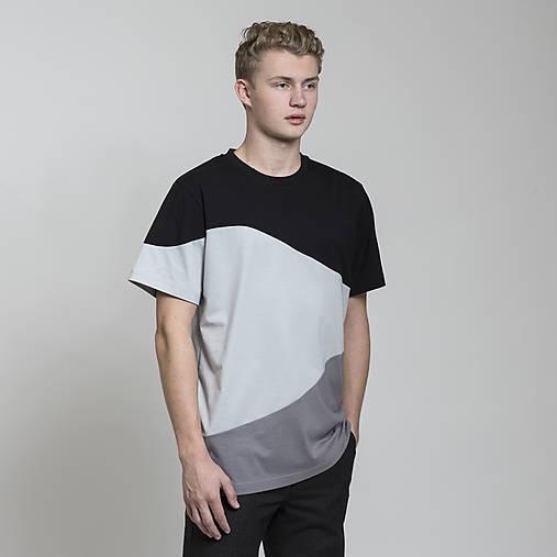 Oblečenie - tričko CAMO šedé - 8811988_