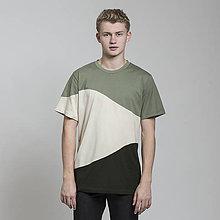 Oblečenie - tričko CAMO zelené - zľava - 8812132_