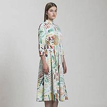 Šaty - šaty TIEŇ PAPRADÍ - 8815659_