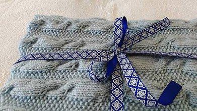 Textil - detská pletená deka - 8812281_