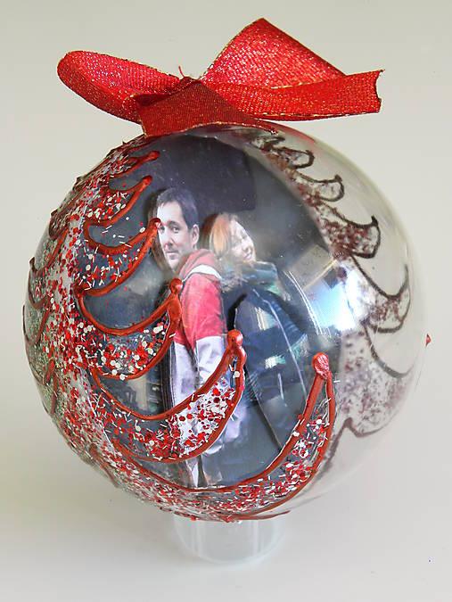 FAREBNE KOMBINOVANÉ vianočné gule s 3D fotkou   Vidu - SAShE.sk ... da7182862dd