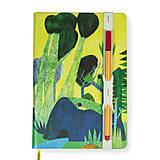 Papiernictvo - Zápisník A5 Príbeh lesa - 8811368_