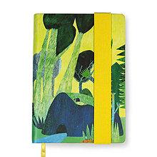 Papiernictvo - Zápisník A6 Príbeh lesa - 8811348_