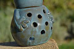 Svietidlá a sviečky - Žaba - Anura - aromalampa - 8811725_