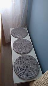 Úžitkový textil - Podsedák na lavicu (Modrá) - 8814484_