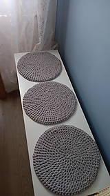 Úžitkový textil - Podsedák na lavicu (Modrá) - 8814485_