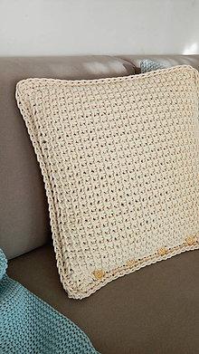Úžitkový textil - Veľký vankúš 50 x 50 cm (Žltá) - 8814577_