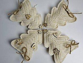 Návody a literatúra - Dekorační vánoční stromek - návod - 8819151_