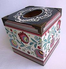 Krabičky - Krabica na vreckovky - 8820288_