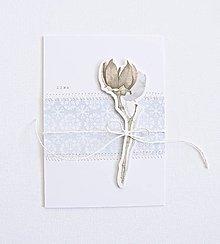 Papiernictvo - Pozdrav - zimné plody III - 8821046_