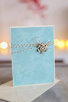 Papiernictvo - Vianočná pohľadnica - scrapbook - 8818689_