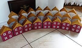 Dekorácie - Domčeky 8 x 3 - 8817205_