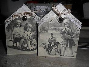 Dekorácie - Vianočné domčeky - 8821110_