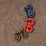 Náušnice - Confetti n.3 - sutaškové náušnice - 8817083_