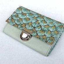 Peňaženky - Zlatý motýl - peněženka - 8817173_