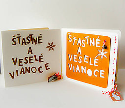 Papiernictvo - Šťastné a veselé Vianoce - vianočné výrobky - 8822697_
