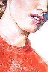 Obrazy - Akvarelový obraz na objednávku - 8820639_