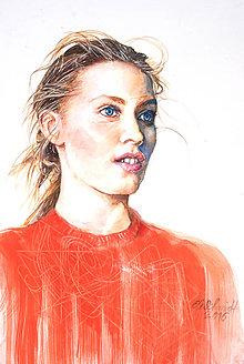 Obrazy - Akvarelový obraz na objednávku - 8820640_