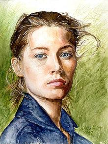 Obrazy - Akvarelový obraz na objednávku - 8820721_